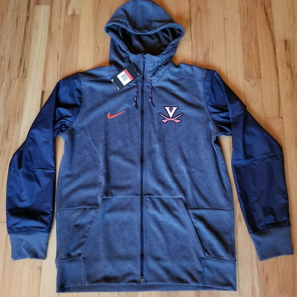 3e359da4efa73 Nike U of Virginia UVA Team Issued Full Zip Jacket